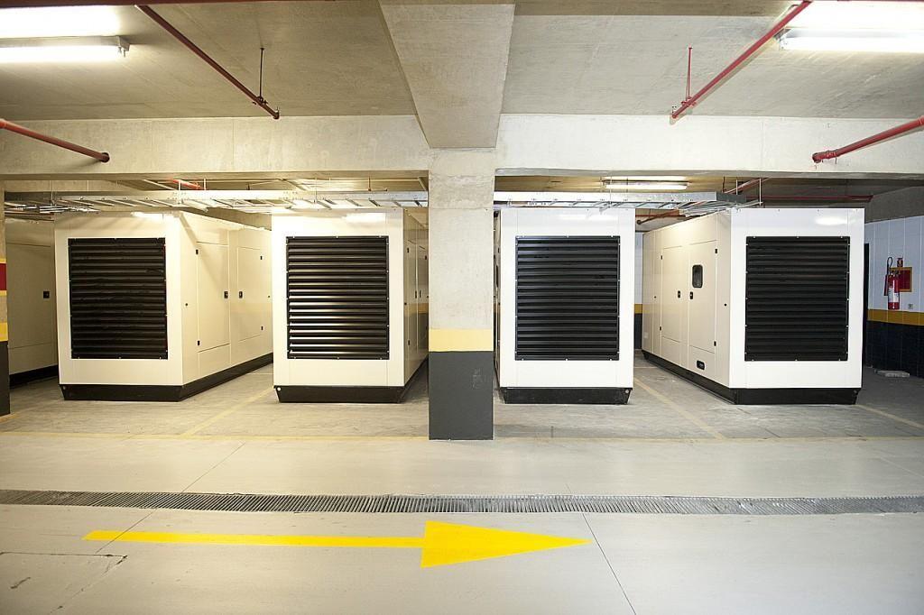 gerador de energia para condominio - gerador full em predio residencial