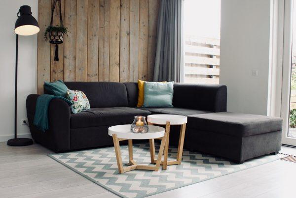 como usar tapetes na decoração - sala de estar