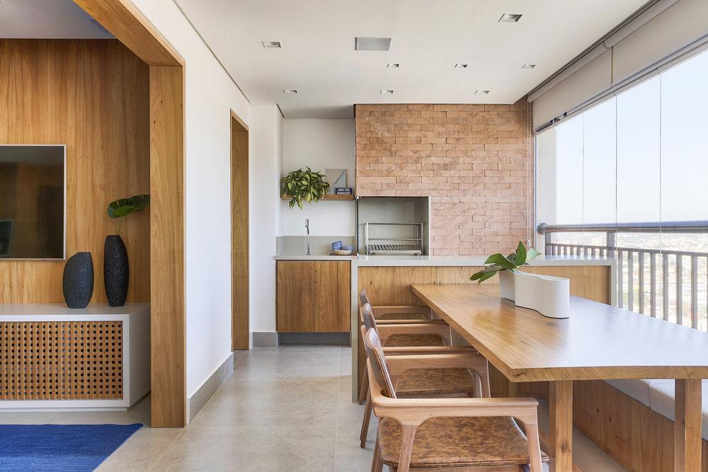Varanda gourmet: um espaço para quem ama receber amigos