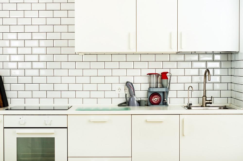 Cozinha minimalista - cozinha branca