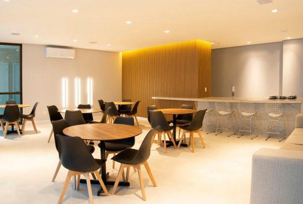 Áreas comuns do condomínio - área gourmet