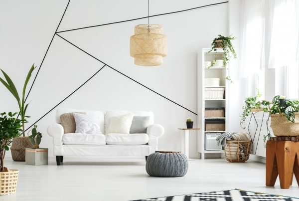 Achados de artesanato - sala decorada