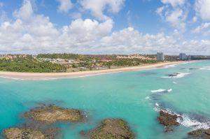 litoral norte de Maceió - praia de Jacarecica