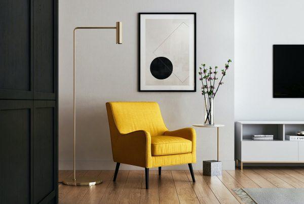 Cadeira amarela
